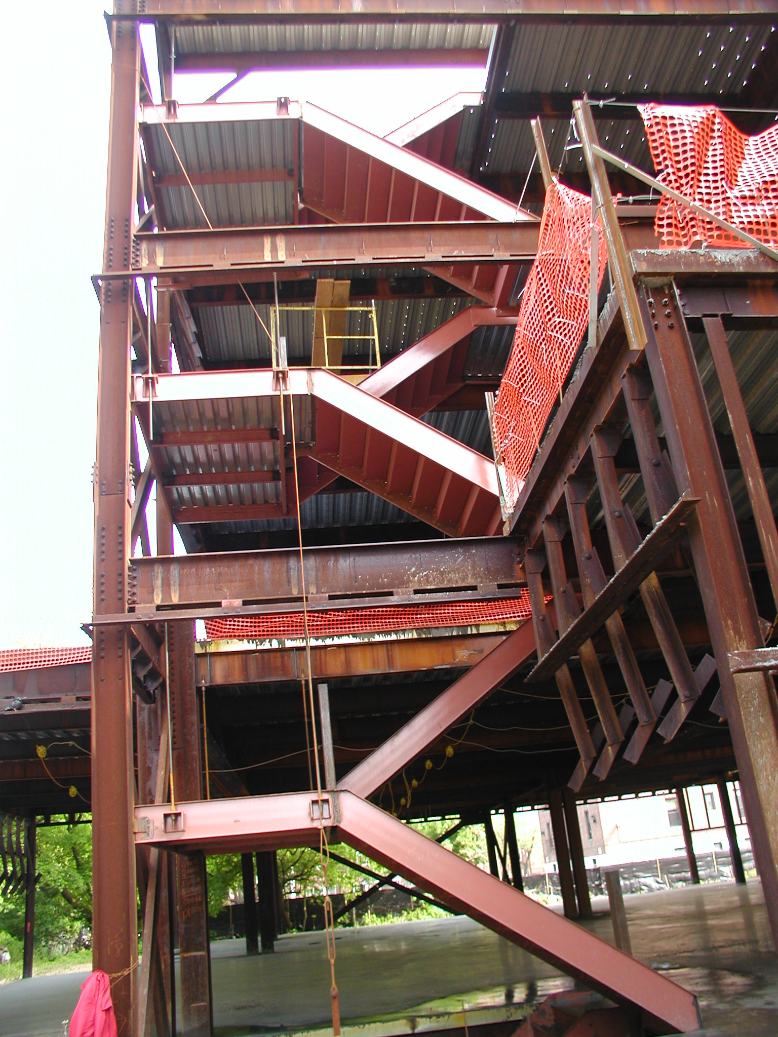 Steel Structure Fabricator Steel Staircase Installation Ny